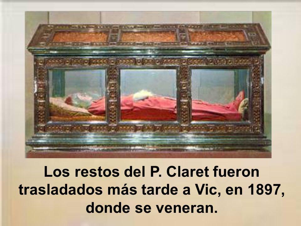 Su cuerpo fue depositado en el cementerio monacal con una inscripción de Gregorio VII que decía: