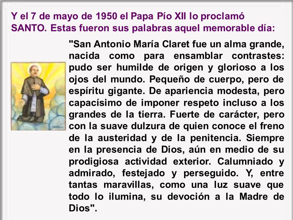 El 25 de febrero de 1934 la Iglesia le inscribió en el número de los beatos. El humilde misionero apareció a la veneración del mundo en la gloria de B