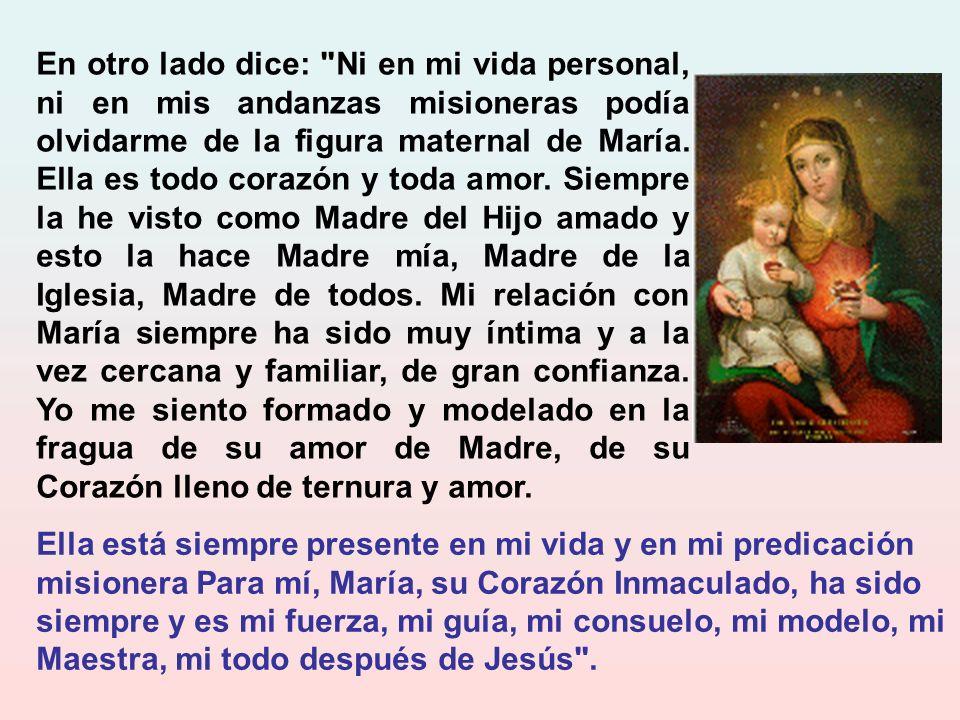 Decía el Santo: