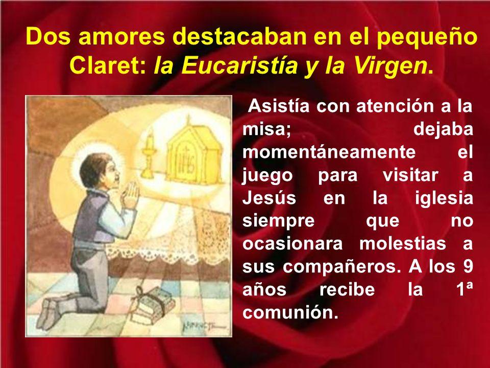 La gran obra de Claret comienza humildemente con cinco sacerdotes dotados del mismo espíritu que el Fundador.