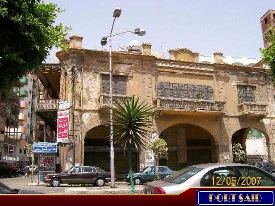 La ciudad de Port Said nació en realidad como un campamento, fundado en 1859 por Said Pasha.
