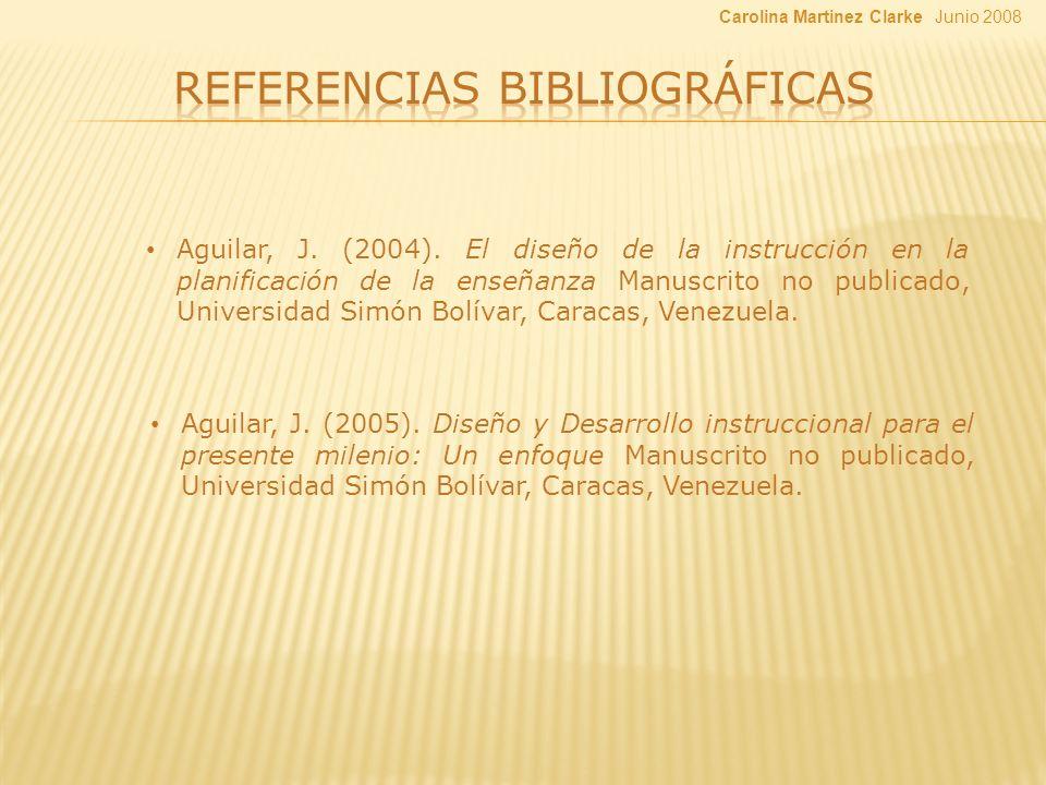 Aguilar, J. (2005).
