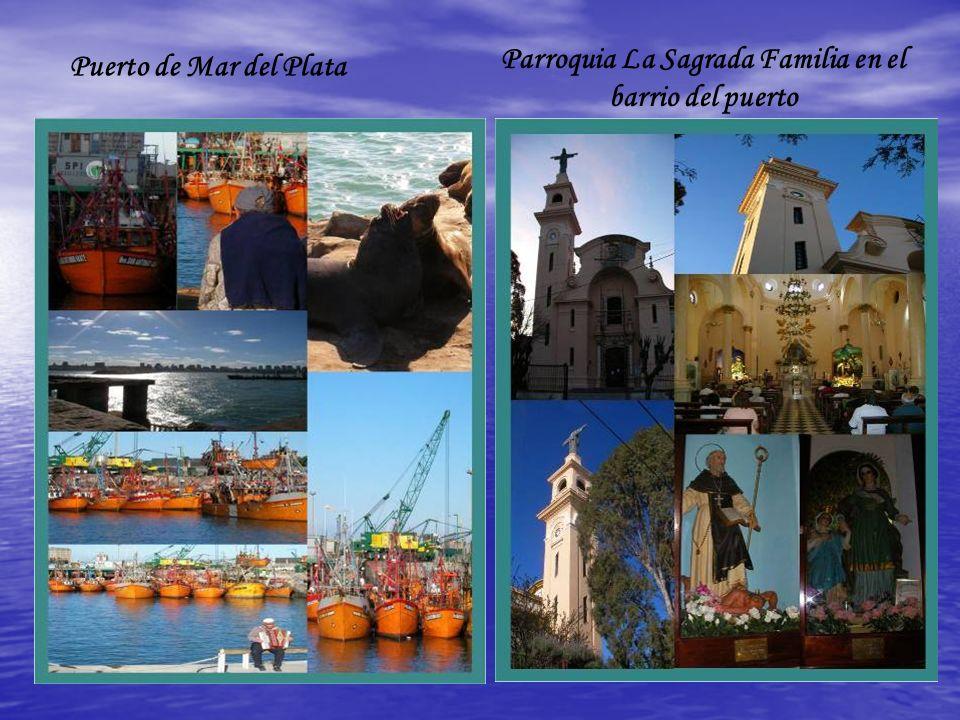Parroquia La Sagrada Familia en el barrio del puerto Puerto de Mar del Plata