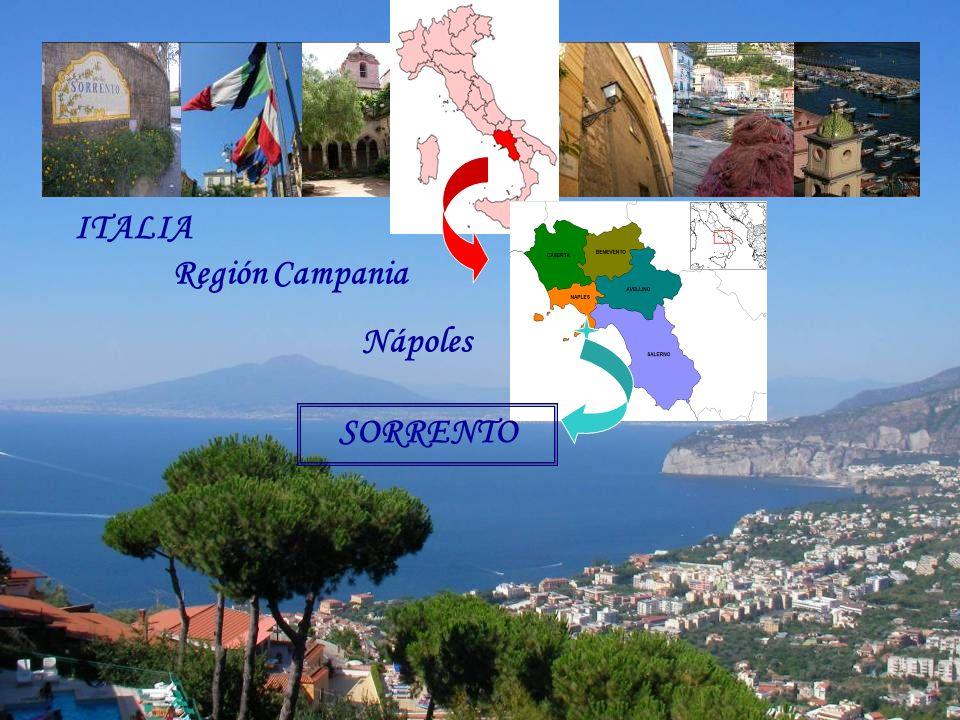 SORRENTO ITALIA Región Campania Nápoles