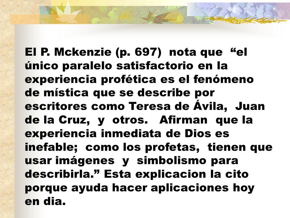 El P. Mckenzie (p.