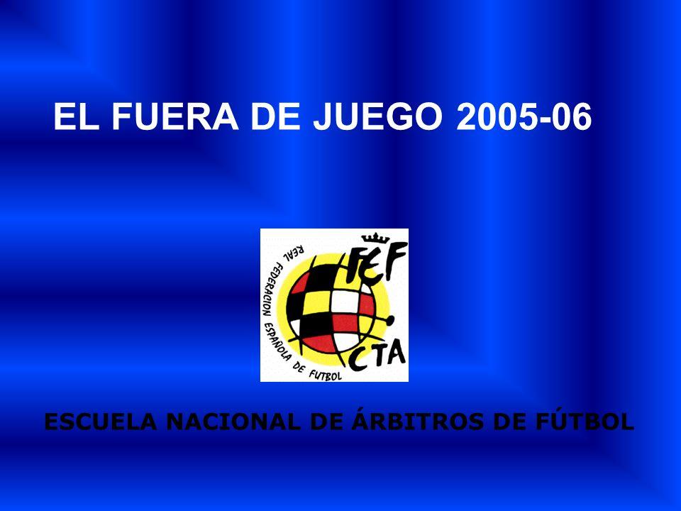 ESCUELA NACIONAL DE ÁRBITROS DE FÚTBOL EL FUERA DE JUEGO 2005-06