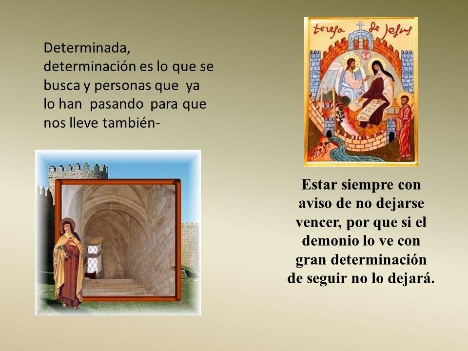 Si perseveramos en estos amores primerizos llegaremos con la ayuda de Dios a sentirnos fuertemente amados; mientras tanto nos quedaremos con lo elemen