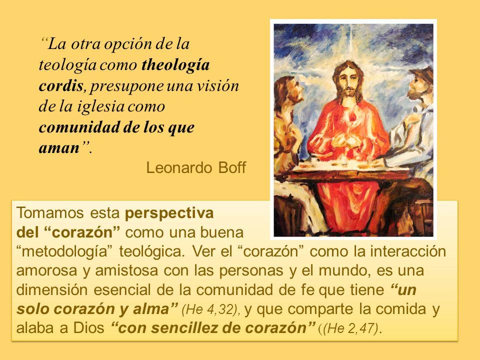 Cordis En el compartir su fe, los primeros cristianos tenían una metodología característica que definía su quehacer teológico. La teología era algo qu