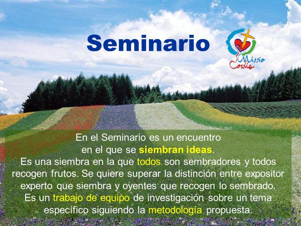 Premisas Seminario Pastoral Missio Cordis