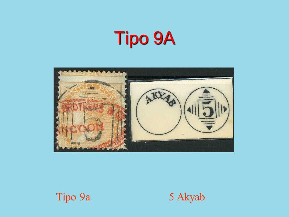 Tipo 9A Tipo 9a 5 Akyab