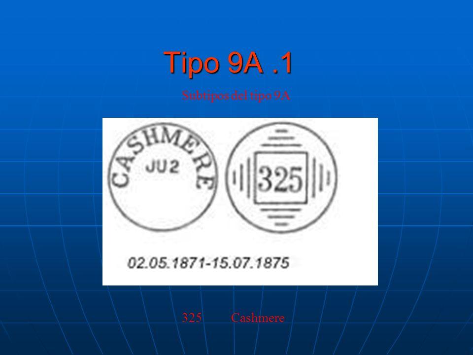 Tipo 9A.1 Subtipos del tipo 9A 325 Cashmere