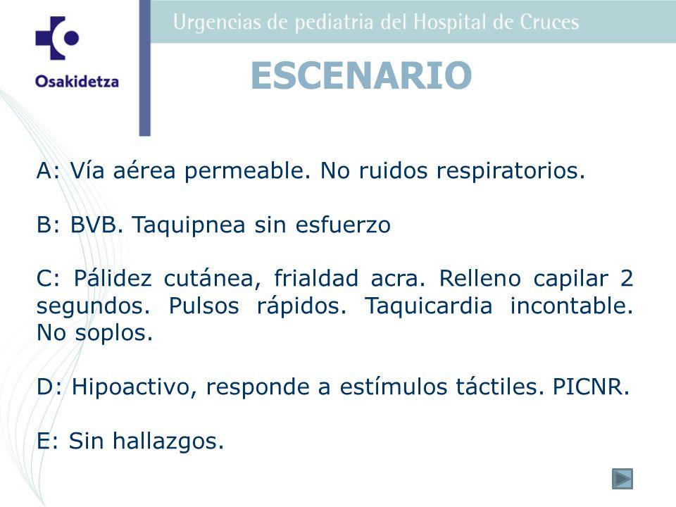 2.Oxigenoterapia, acceso venoso, monitor hoja registro y aviso previo a Unidad Neonatal.