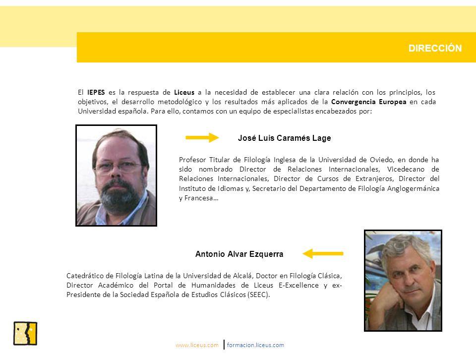 CATÁLOGO DE SERVICIOS El catálogo de servicios del IEPES está orientado a tres objetivos: www.liceus.com | formacion.liceus.com ASESORAMIENTO A ENTIDADES PÚBLICAS Y PRIVADAS El Instituto Español de Prospectiva en la Educación Superior (IEPES) dispone de un Equipo de Expertos Europeos capaz de analizar y de proponer de forma completa, a través de un informe escrito realizado en un tiempo record, las necesidades de su Universidad e Institución dentro de la Convergencia Europea.