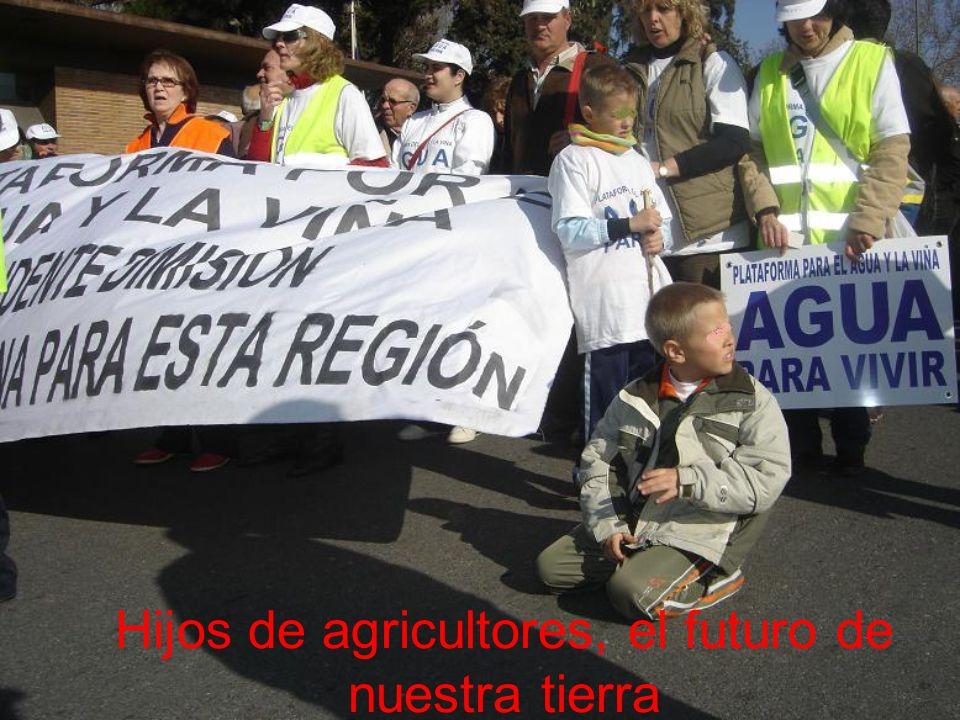 Hijos de agricultores, el futuro de nuestra tierra