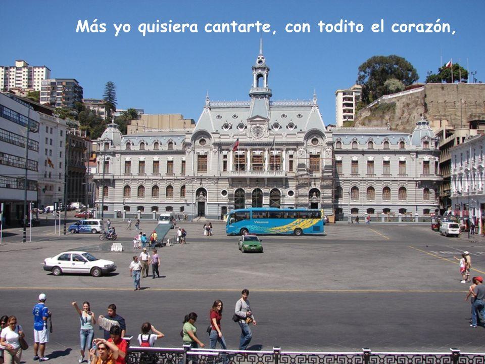 La plaza de La Victoria, es un centro social, o Avenida Pedro Montt, como tú no hay otra igual.