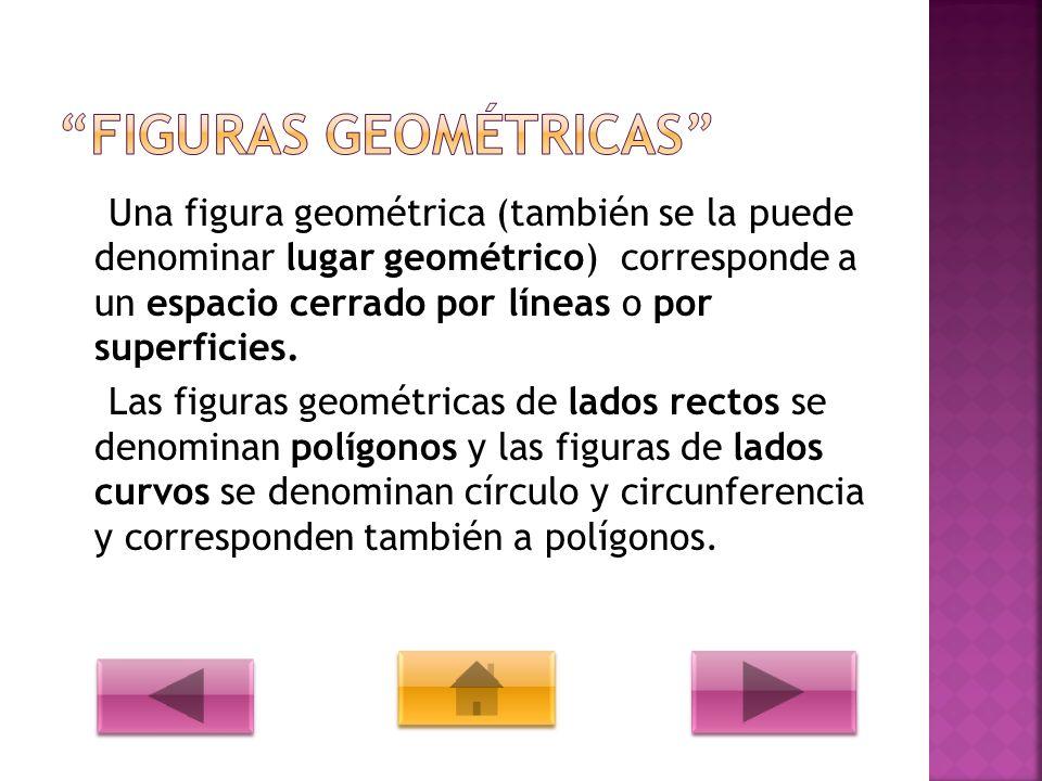 Triángulo Cuadrado Rectángulo Rombo Círculo