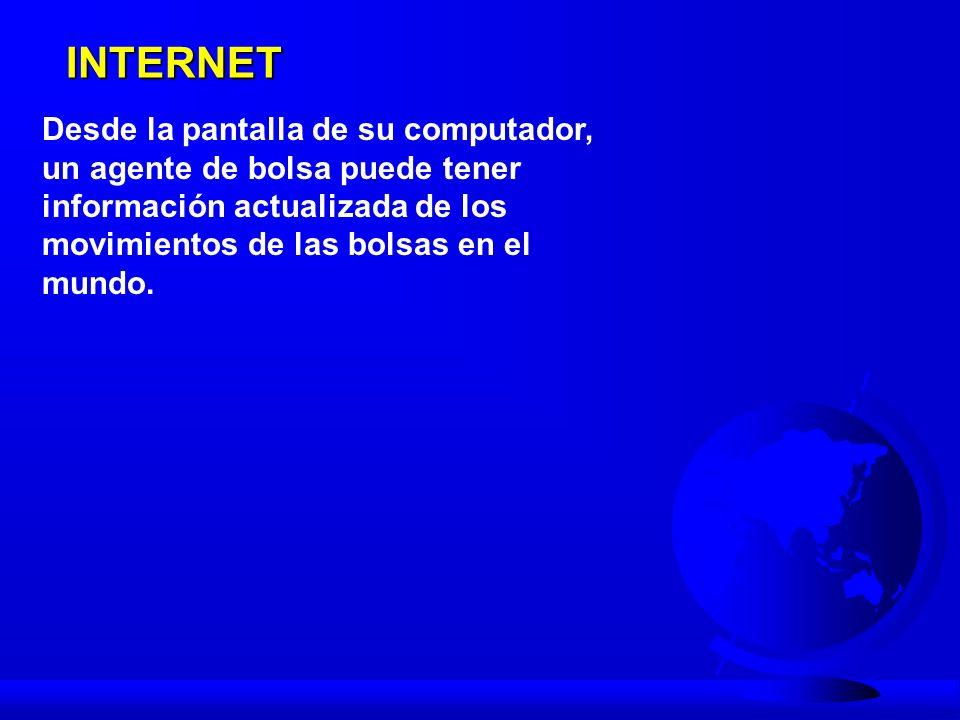 INTERNET Se puede apartar una cita ó recibir atención médica, a distancia, en cualquier parte del mundo