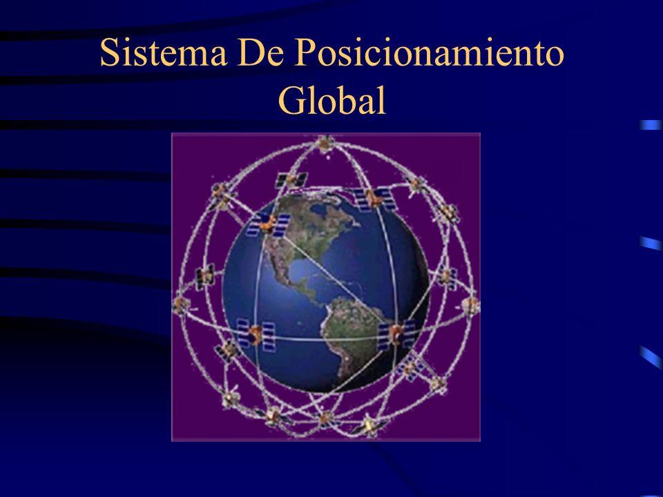 DESCRIPCIÓN DEL SISTEMA: El sistema Global de posicionamiento (GPS por sus siglas en inglés) es sistema de navegación compuesto de una red de 24 satélites a una altura de aproximadamente 20 000 Km.