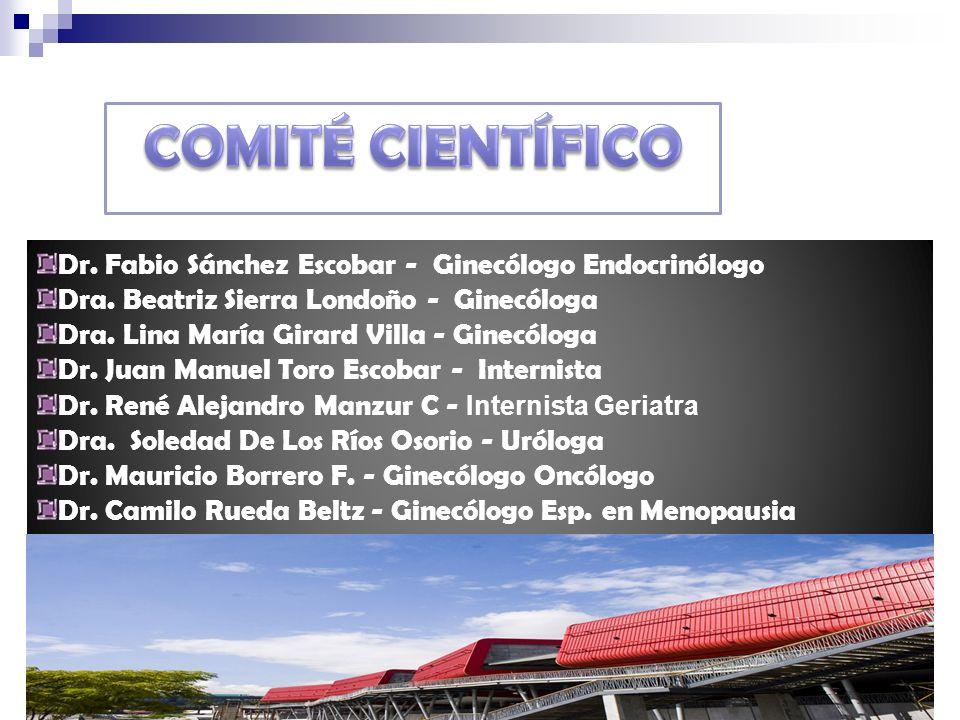 COMITÉ FINANCIERO Dr.David Vásquez Awad MD Ginecólogo Dr.
