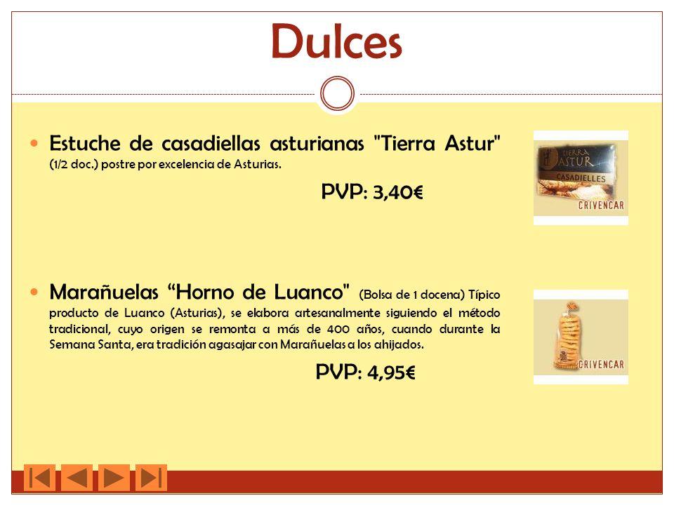Dulces Estuche de casadiellas asturianas