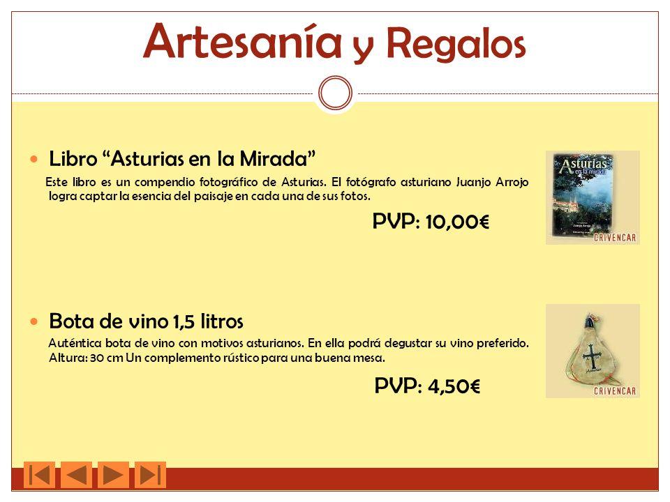 Artesanía y Regalos Libro Asturias en la Mirada Este libro es un compendio fotográfico de Asturias. El fotógrafo asturiano Juanjo Arrojo logra captar
