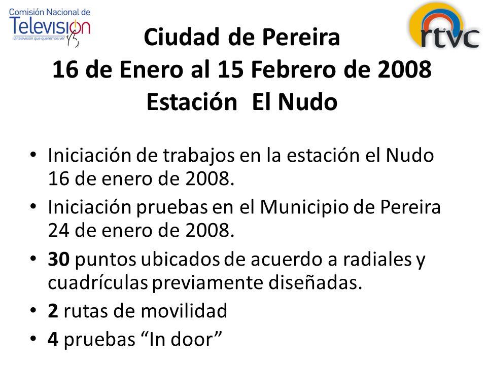 Cuadricula y Radiales Municipio de Pereira
