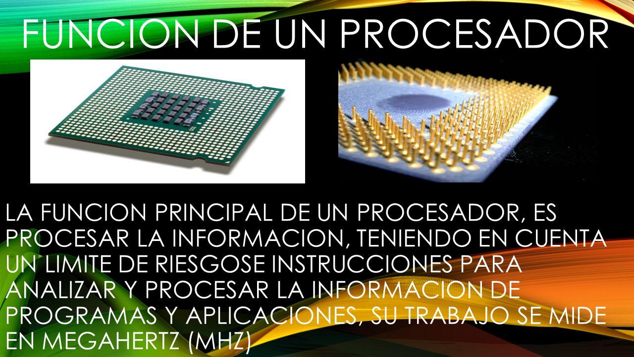 TIPOS DE PROCESADORES CISC.Complex Instruction Set Computing.