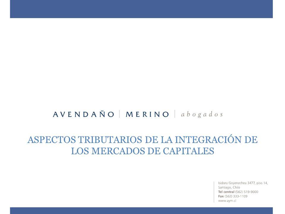 PRINCIPALES IMPUESTOS A CONSIDERAR EN LAS OPERACIONES EN MERCADOS INTEGRADOS IMPUESTO A LAS VENTAS Y SERVICIOS (IVA) ¿IVA EN LAS OPERACIONES DE COMPRAVENTA DE ACCIONES.