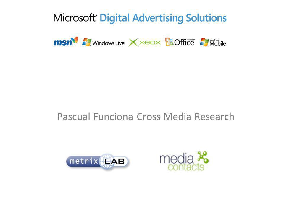 Pascual Funciona Cross Media Research