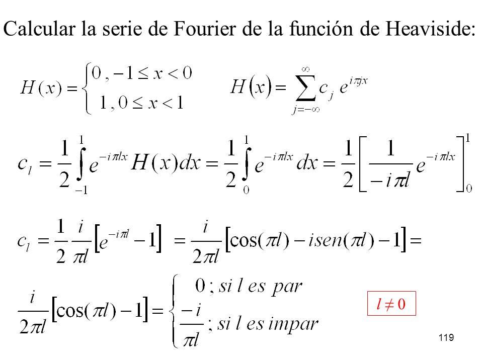 118 Como 0 T = 2 y además: que coincide con el resultado ya obtenido.