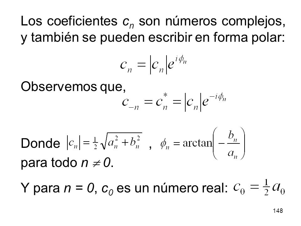 147 Calcular la serie de Fourier de (x):