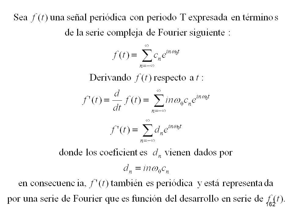 161 Diferenciación de señales periódicas: