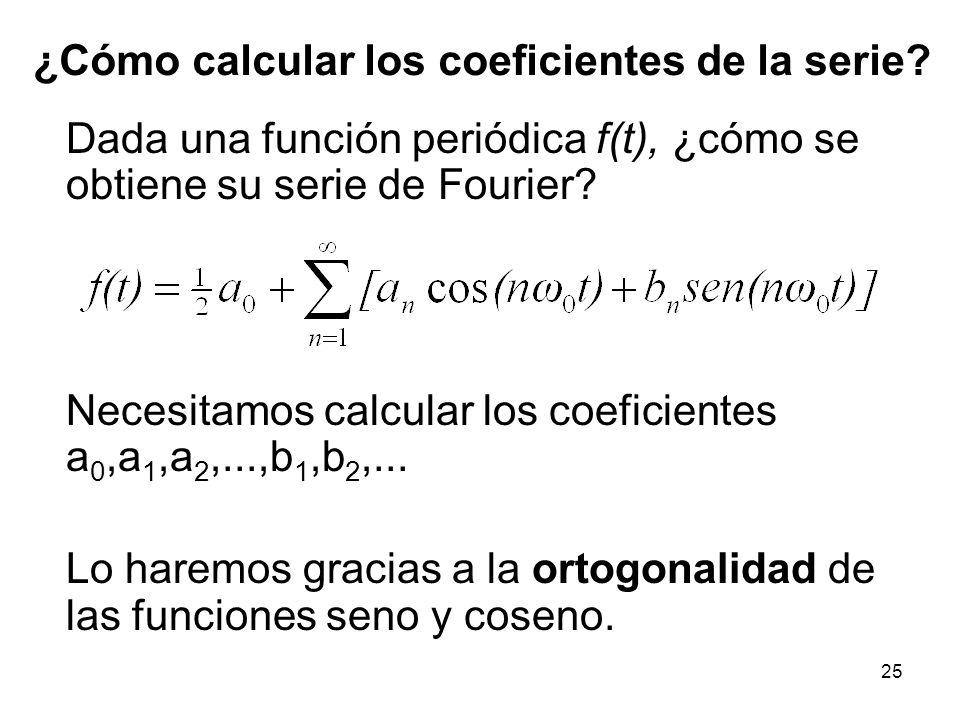 24 a 0 = 0, a 1 = 0, a 2 = 0... b 1 = 1, b 2 = 1/2, b 3 = 1/3,...