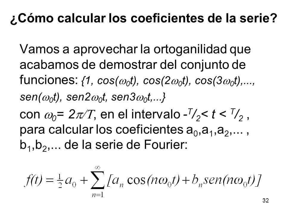 31 4.- sen(m 0 t) vs.sen(n 0 t): 5.- sen(m 0 t) vs.
