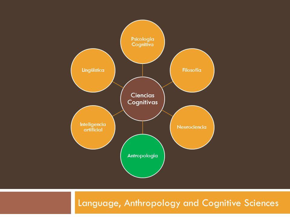 Language, Anthropology and Cognitive Sciences Ciencias Cognitivas Psicología Cognitiva FilosofíaNeurocienciaAntropología Inteligencia artificial Lingü
