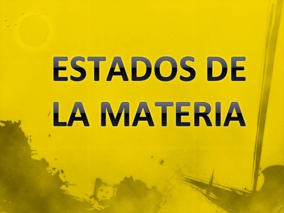 LO FORMAN LAS MOLECULAS CUANDO ESTAN ORDENADAS, JUNTAS CON POCA ENERGIA CINETICA Y FUERZAS DE ATRACCION GRANDES.