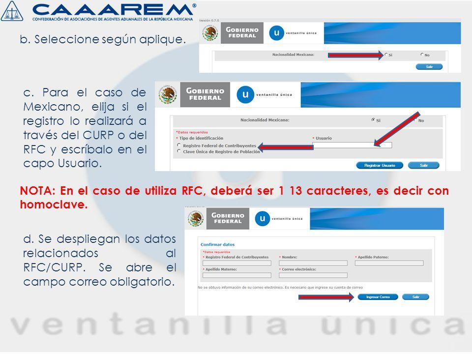 a.Página de Inicio – Seleccionar Administración de Usuarios. c