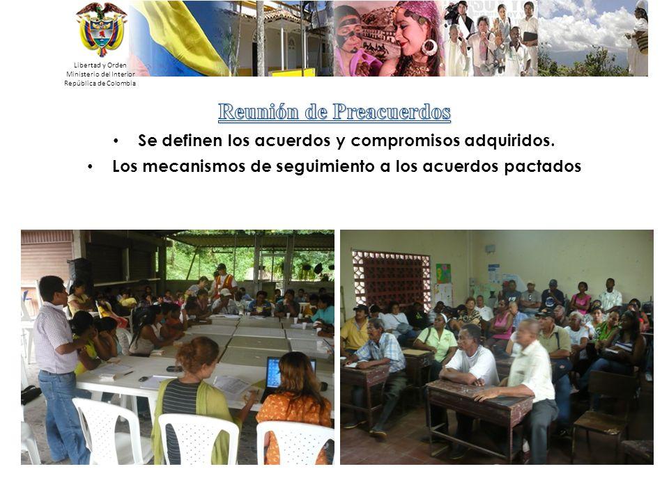 Libertad y Orden Ministerio del Interior República de Colombia