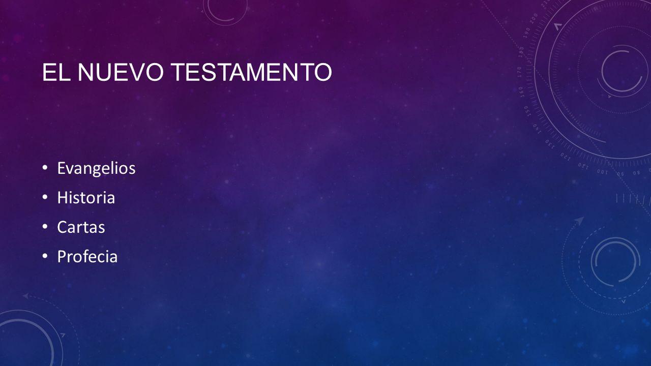 EL NUEVO TESTAMENTO Evangelios Historia Cartas Profecia