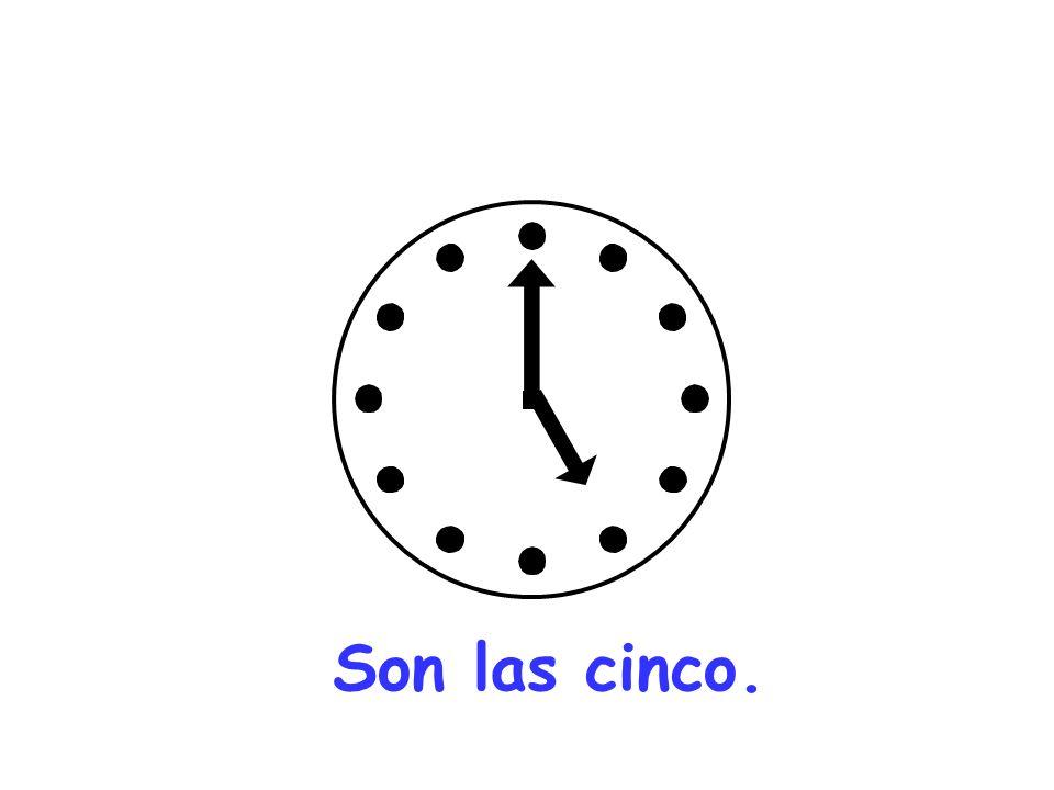 Son las diez.