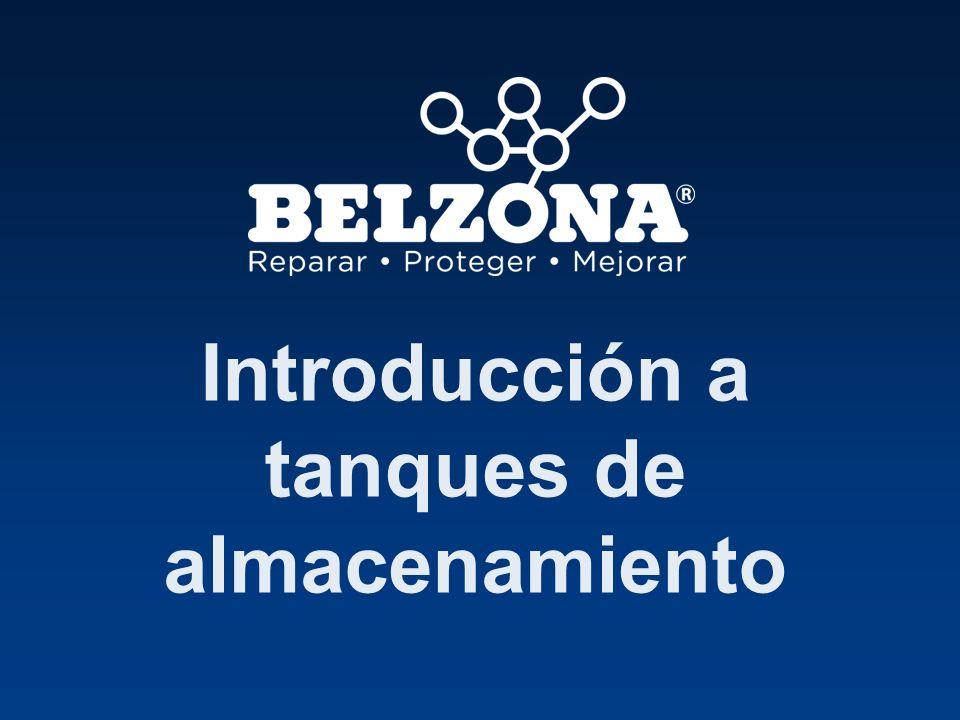 TANQUE DE ALMACENAMIENTO Protección externa Soluciones Belzona Introducción