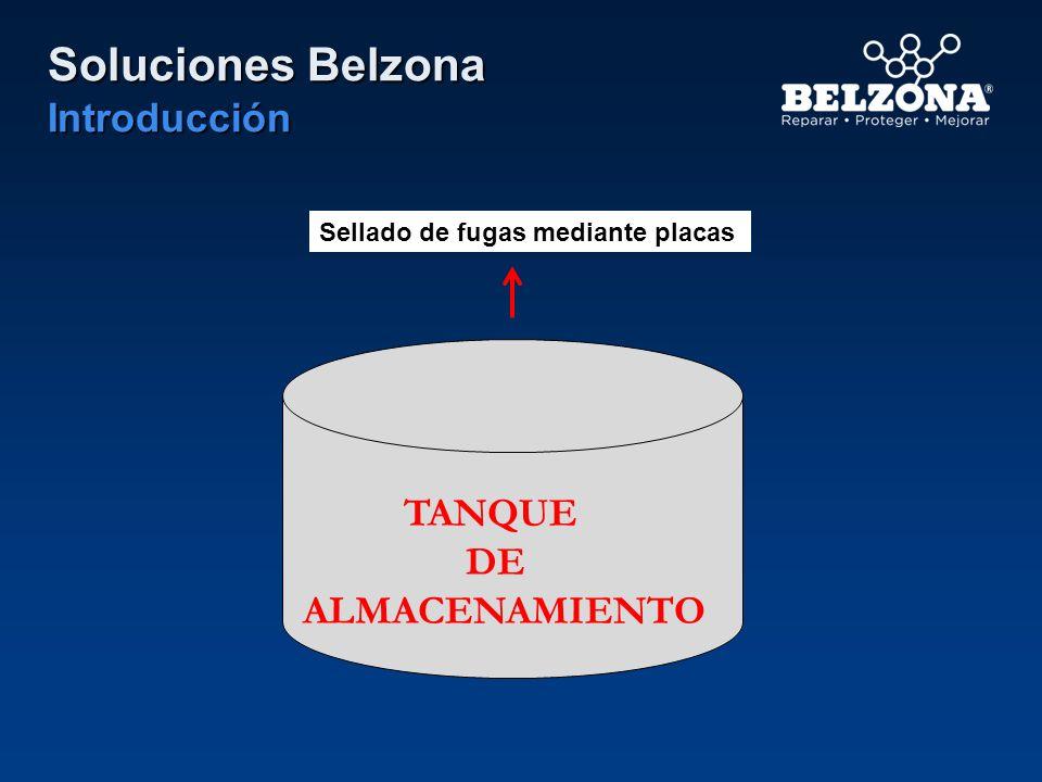 TANQUE DE ALMACENAMIENTO Sellado de fugas mediante placas Soluciones Belzona Introducción