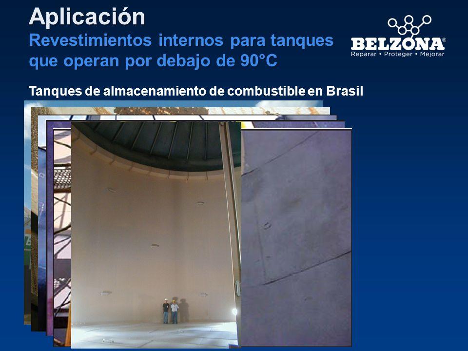Tanques de almacenamiento de combustible en Brasil Aplicación Revestimientos internos para tanques que operan por debajo de 90°C