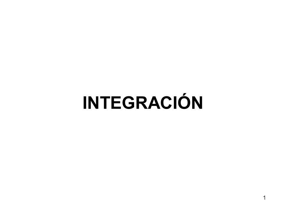 1 INTEGRACIÓN