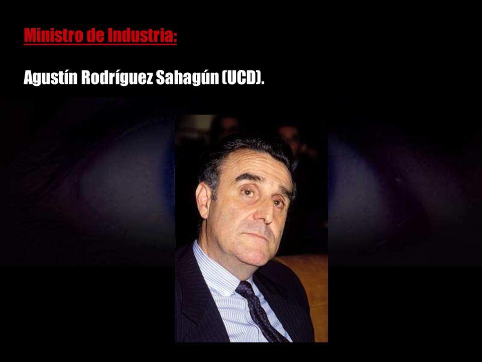 Ministro de Trabajo: Jordi Solé Tura (PCE).
