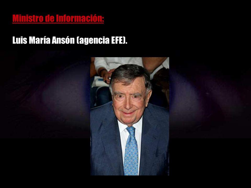 Ministro de Sanidad: Enrique Múgica (PSOE).