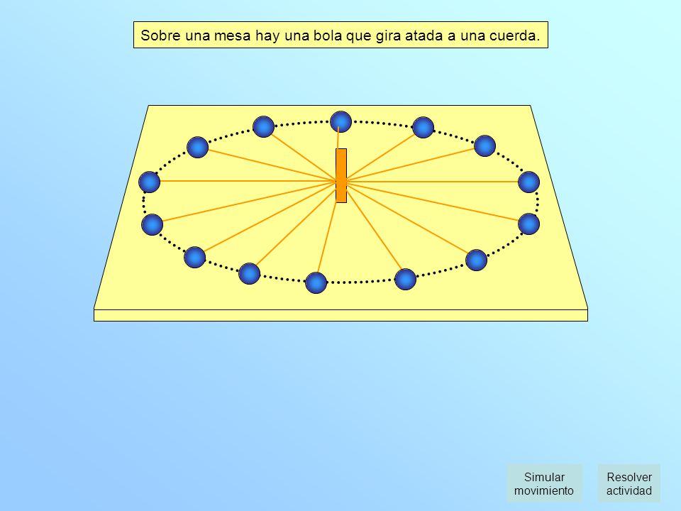 4º E.S.O. Fuerzas U.2 Las leyes de la dinámica A.15 Fuerzas en el movimiento circular