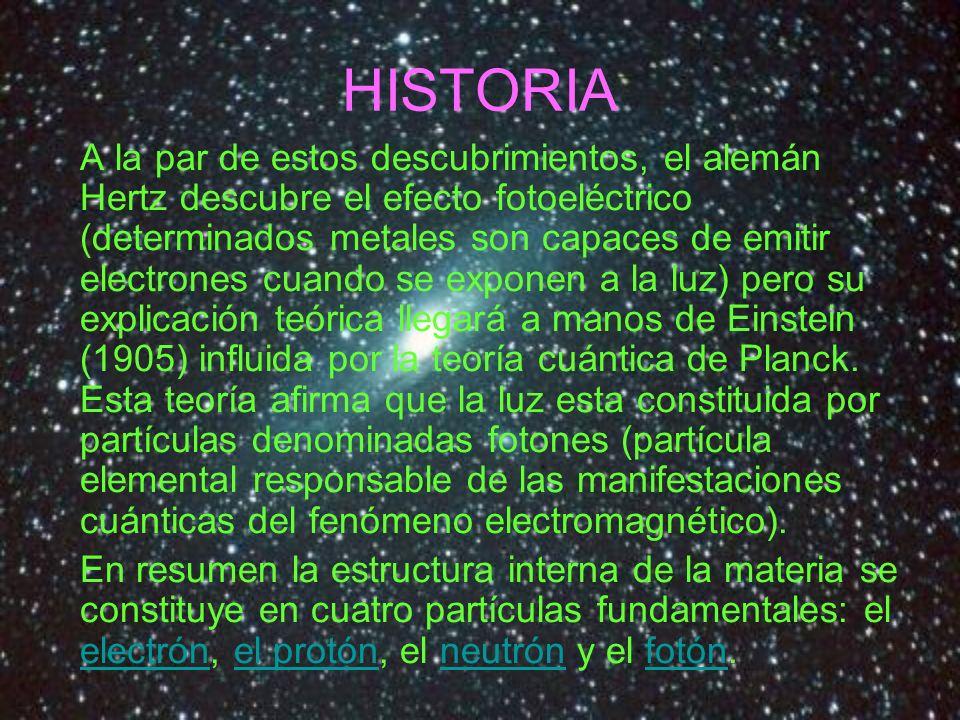ELECTRÓN Es una partícula subatómica de tipo fermiónico.