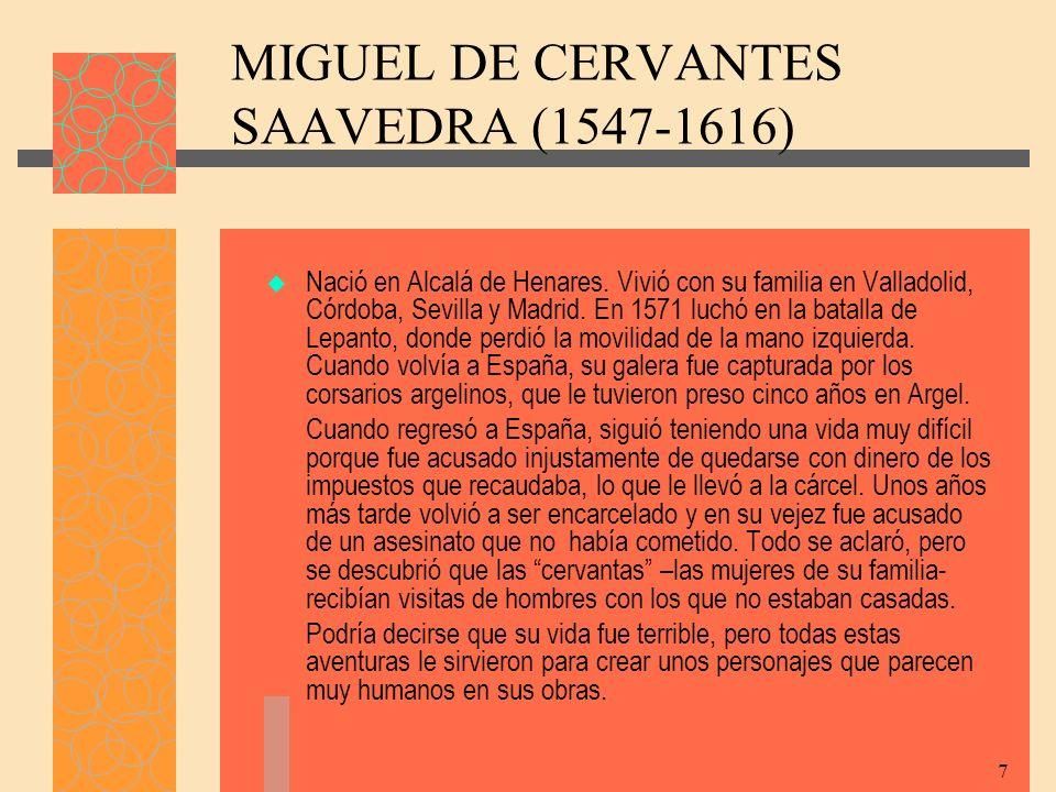ANÉCDOTA Miguel de Cervantes embarcó en Nápoles en la galera Sol.