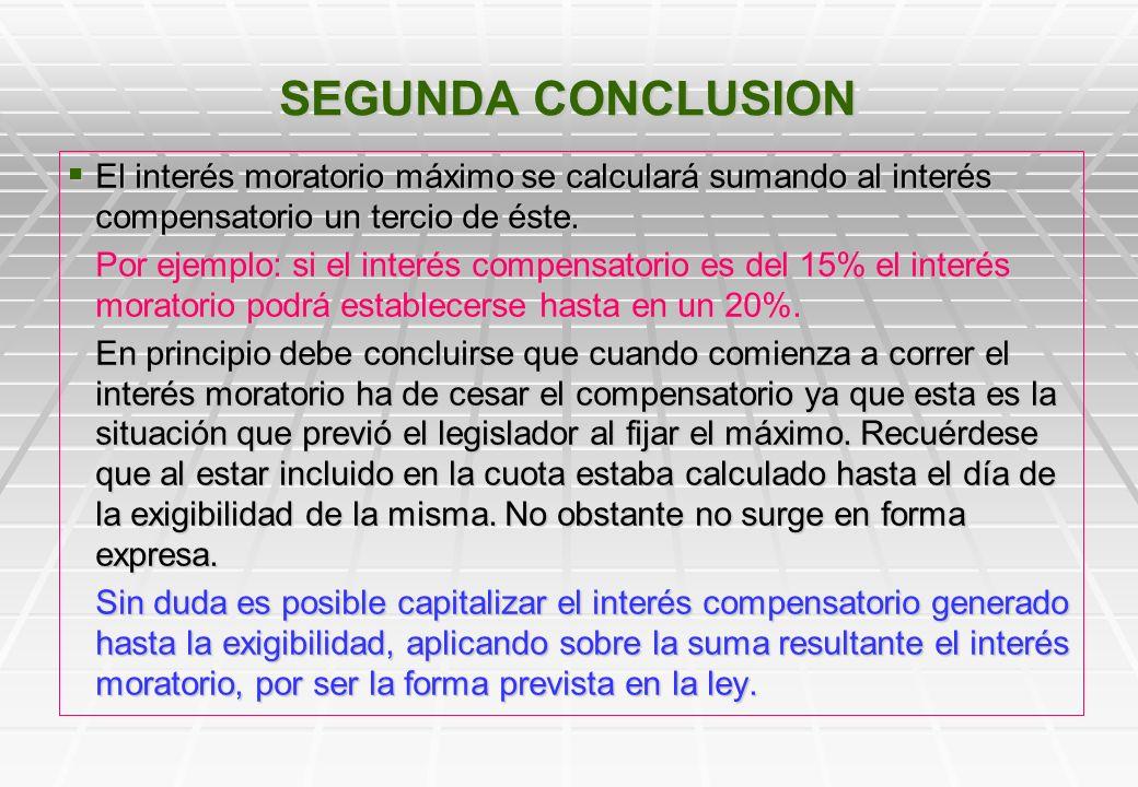 A los efectos del calculo del interés moratorio máximo el legislador parte de la tasa de descuento porque la presume igual al interés compensatorio. A